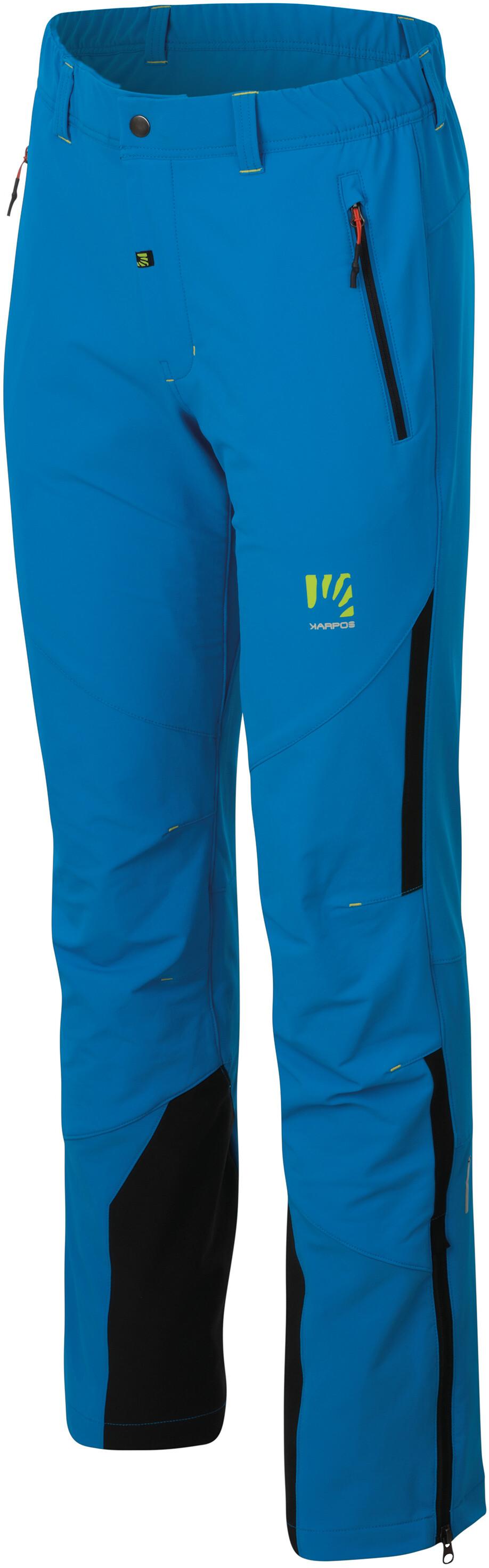 Black//Bluette Karpos Express 200 Evo Pantaloni Uomo